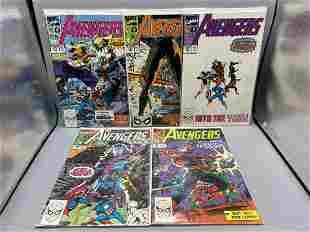 Avengers #314-318 - Spider-Man storyline & he