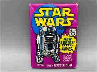 1977 Topps Star Wars Series 3 Unopened Wax Pack