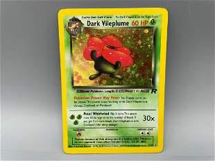 Pokemon Team Rocket Dark Vileplume Holo #13/82