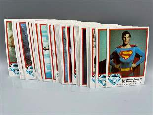 1978 Topps Superman Series 1 Complete Set #1-77