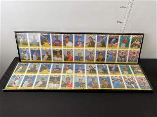 1988 Topps Rookies Uncut Sheets Lot of 2 in Frame -