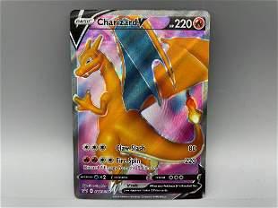 Pokemon Champion's Path Charizard V #SWSH050