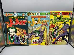 The Joker #3, 7 & 9