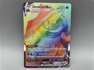 Pokemon Champion's Path Drednaw VMAX Secret Rainbow