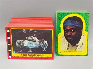 1979 Topps Alien Complete 84 Card Set with 22 Sticker