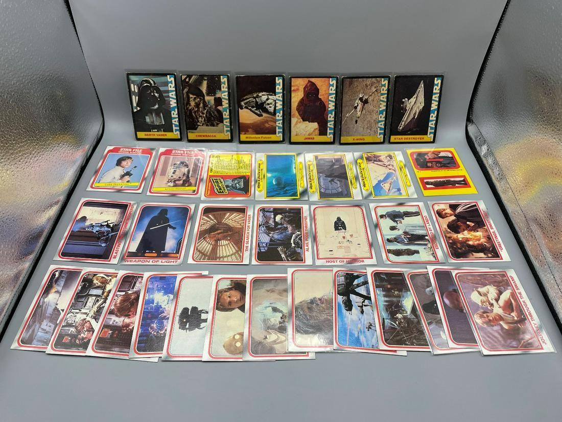 1977-1980 Topps Stars Wars & Empire Strikes Back Misc