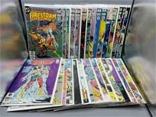 Fury of Firestorm Comic Book Lot