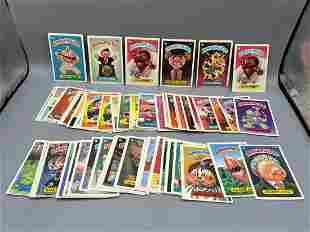 Vintage Garbage Pail Kids Lot of 63 Cards - Series 2 &