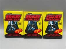 1980 Topps Star Wars Empire Strikes Back Lot of 3
