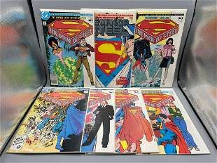 Superman The Man of Steel Mini Series Set #1-6 with