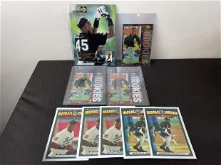 Lot of 9 Upper Deck Michael Jordan Baseball Oversized