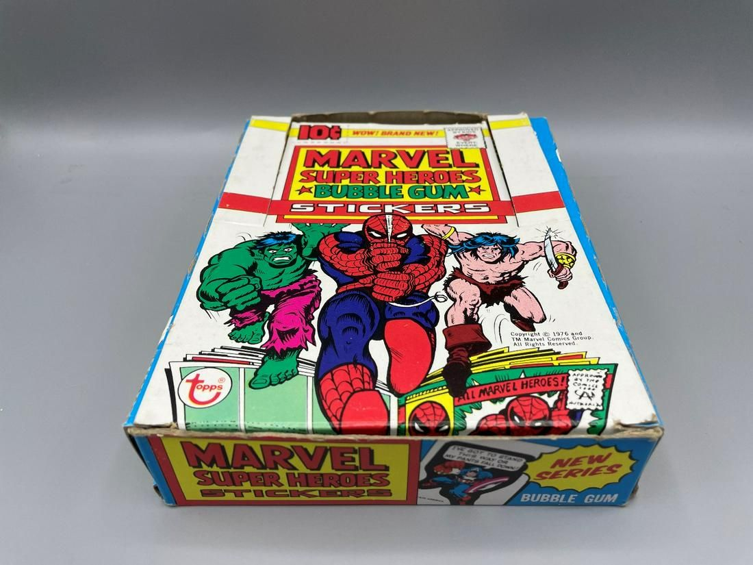 Rare 1976 Topps Marvel Super Heroes Stickers Lot of 30