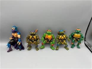 Lot of 5 Teenage Mutant Ninja Turtles - Shredder,