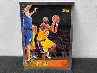 1996-97 Topps Kobe Bryant 50th Anniversary Foil Rookie