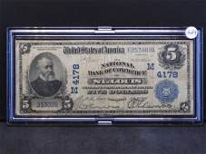 Series 1902 U.S. National Currency Large Size $5 -
