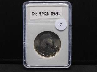 1948 Franklin Half Dollar