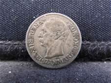 1910 Denmark 10 Ore 40% Silver Coin. Frederick VIII