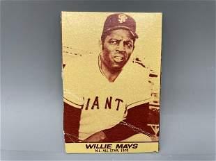 1971 Milk Duds Willie Mays