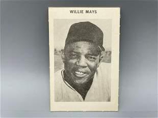 1969 Milton Bradley Willie Mays
