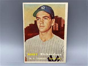 1957 Topps Bobby Richardson RC #286