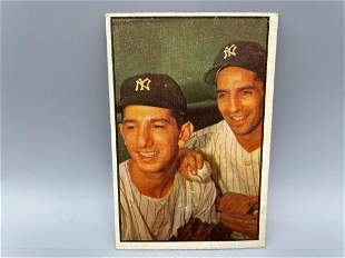 1953 Bowman Color Phil Rizzuto & Billy Martin #93