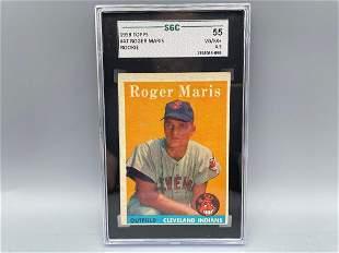 1958 Topps Roger Maris RC #47 SGC 4.5