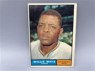 1961 Topps Willie Mays #150