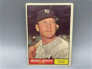 1961 Topps Mickey Mantle #300