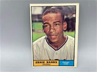 1961 Topps Ernie Banks #350