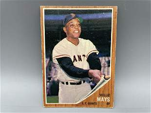 1962 Topps Willie Mays #300