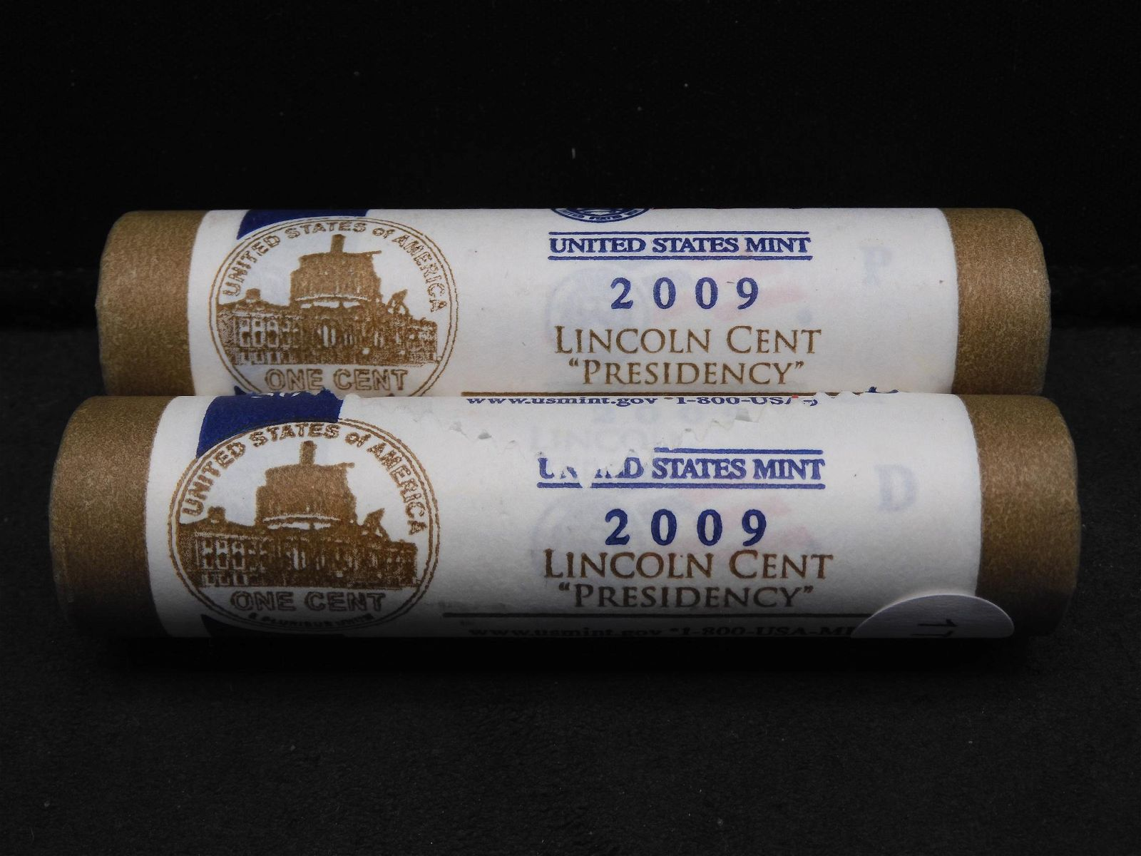 2009 P & D Lincoln Cent Presidency US Mint Fancy