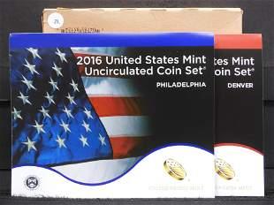 2016 P& D Unc. Coin Set