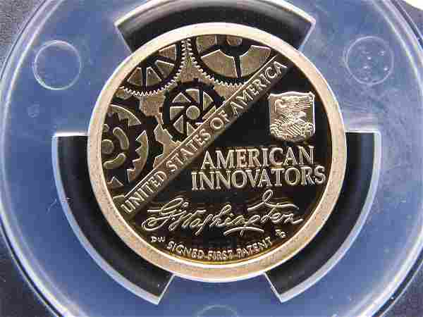2018-S Inaugural ANACS PR 70 DCAM From a 3 Coin