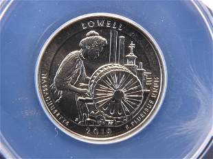 2019-W ANACS MS 67 Lowell NHP Early Discovery Quarter
