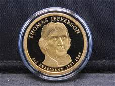 "Thomas Jefferson Proof ""S"" Mint US Mint Presidential"