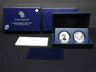 2 Coin Set 2013-S American Silver Eagle Reverse Proof