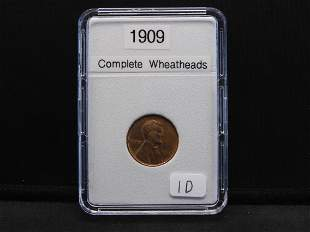 1909 Wheat, Complete Wheat heads