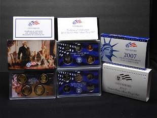 2007-S US Mint 14-Coin Proof Set With Original Gov