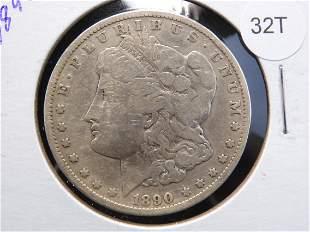 1890- CC Morgan Dollar Key Date Carson City