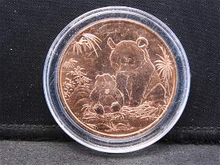 1 Ounce .999 Copper