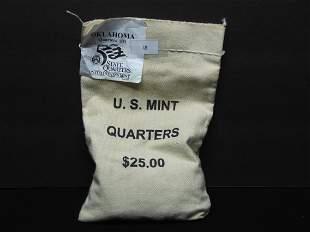Seldom Seen U.S. Mint Sewed Bags - $25.00 Oklahoma D