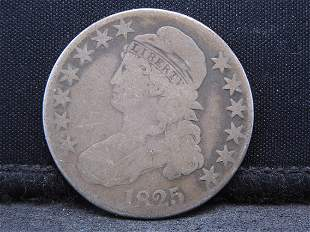 1825 Capped Bust Half Dollar Neat Early Type Coin
