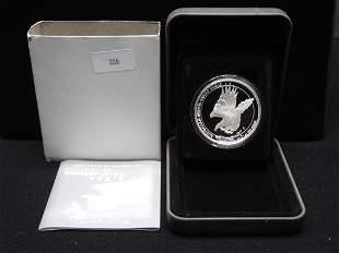 2014 1 Oz. .999 Silver Australian Wedge-Tailed Eagle w/