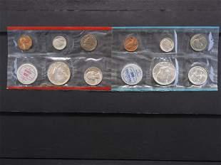 1964 P&D Uncirc. Set Contains Six 90% Silver Coins