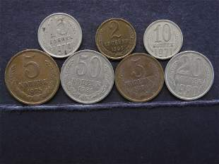 Collection of Coins of the Soviet Union