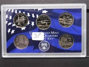 2001 S State Quarter Set (No Box)