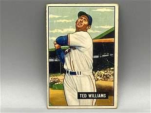 1951 Bowman Ted Williams #165 HOF