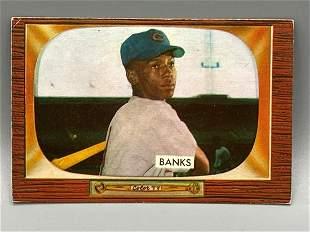 1955 Bowman Ernie Banks #242 2nd Year card