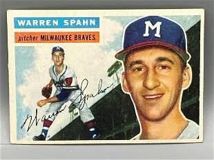 1956 Topps Warren Spahn #10