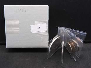 1951-S U.S. Mint PROOF Set. **RARE EARLY PROOF SET**